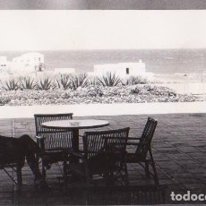 Fotografía antigua: SEÑORA SENTADA (ZONA ALMERÍA). CIRCA 1970. MEDIDAS DE LA FOTOGRAFÍA: 10,5 X 7,5 CM.. Lote 288575468