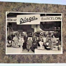 Fotografía antigua: FOTOGRAFIA GRAN FORMATO EXPOSICIÓN MAQUINARIA CLAUDIO ORTEGA.PRIMERA MITAD S.XX. Lote 288863363