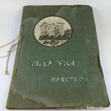 Fotografía antigua: VILLA VIOLETA - AV. TIBIDABO, BARCELONA. ÁLBUM PERSONAL, FOTOS: ADOLF MAS. AÑO 1912.. Lote 289201808
