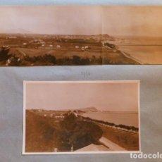 Fotografia antica: DENIA ALICANTE 8 FOTOGRAFIAS MARZO 1936 POR PROFESOR DE IDIOMAS DE VALENCIA BERLITZ. Lote 291525583