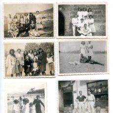 Fotografía antigua: LOTE 8 FOTOS BILBAO Y PAÍS VASCO, DE FAMILIA DE BILBAO. Lote 294490488