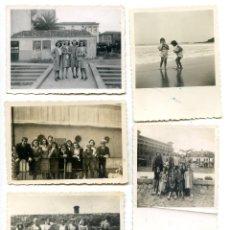 Fotografía antigua: LOTE 7 FOTOS BILBAO Y PAÍS VASCO, DE FAMILIA DE BILBAO. Lote 294490938