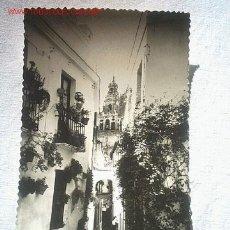 Fotografía antigua: ANTIGUA TARJETA POSTAL - CALLEJA DE LAS FLORES (CORDOBA). Lote 4677961
