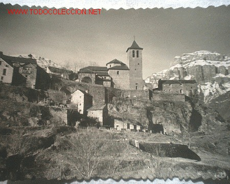 ANTIGUA TARJETA POSTAL - TORLA (HUESCA) (Fotografía Antigua - Tarjeta Postal)