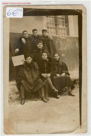 FOTOGRAFIA MILITAR-M (Fotografía Antigua - Tarjeta Postal)