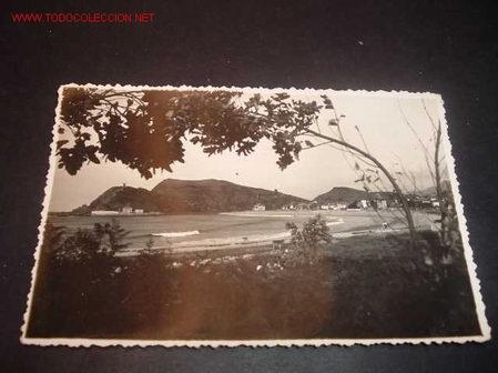 FOTOGRAFIA-RIBADESELLA,ASTURIA (Fotografía Antigua - Tarjeta Postal)