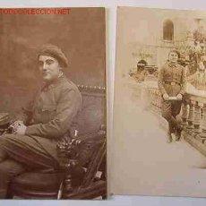 Alte Fotografie - Lote de 2 postales, soldado de infantería, años 20 - 5428344