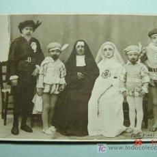 Fotografía antigua: 1371 SANTA CRUZ DE MUSOLA ??? TEATRO FOTO POSTAL AÑOS 1920. Lote 4817094