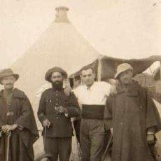 Fotografía antigua: GUERRA MELILLA CAMPAMENTO DAR-RIUS (MELILLA) 1922. Lote 4344358