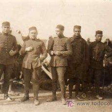 Fotografía antigua: GUERRA MELILLA CAMPAMENTO DAR-RIUS (MELILLA) 1922. Lote 4344388
