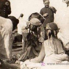 Fotografía antigua: GUERRA MELILLA ZOCO DE DAR-RIUS (MELILLA) 1922. Lote 4344399