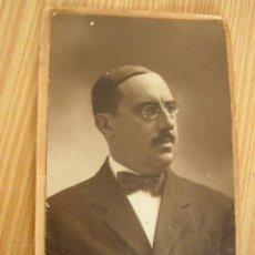 Fotografía antigua: ANTIGUA FOTO DE SEÑOR.- FOT: MODERN-STYL ERNEST- BAR.- 1914?.. Lote 18102433