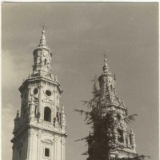 Fotografia antica: (PS-2025) LOGROÑO-CATEDRAL. Lote 5911427