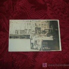Fotografía antigua: POSTAL FOTOGRAFICA ESTUDIO DE ARTISTA. Lote 7890609