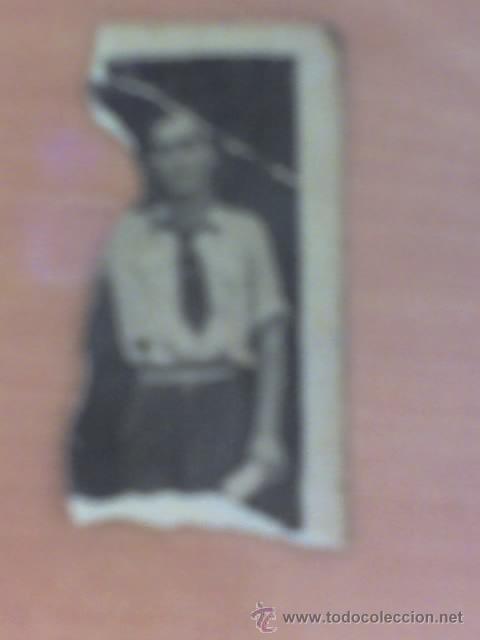 FALANGE.- FOTO DE FALANGISTA .AÑOS 40 (PROPIETARIO DE CARNET ANTERIO VENDIDO ALICANTE (Fotografía Antigua - Tarjeta Postal)