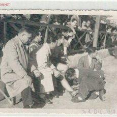 Fotografia antiga: (FF-71)FUTBOL PARTIDO.SANTS-SANT ANDREU=4-12-1949. Lote 1954448