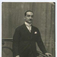 Fotografía antigua: NAPOLEON. FOTO DE ELEGANTE CABALLERO. CIRCA 1920. BCN. Lote 25413854