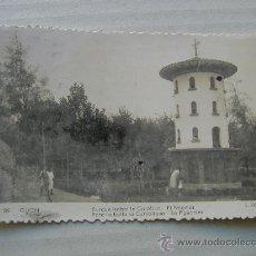 Fotografía antigua: GIJON PARQUE SE ISABEL LA CATOLICA PALOMAR TARJETA POSTAL 1956 FOTO POSTAL . Lote 11250672