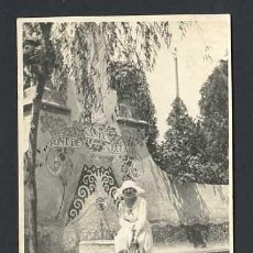 Fotografía antigua: BARCELONA *COLLSEROLA. FONT DE SANTA EULARIA* FOTO ANÓNIMA, SIN FECHA.. Lote 12922613