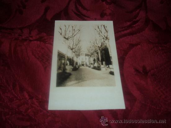 POSTAL FOTOGRAFICA PASEO Y TORRE (Fotografía Antigua - Tarjeta Postal)