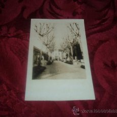 Fotografía antigua: POSTAL FOTOGRAFICA PASEO Y TORRE. Lote 13183405