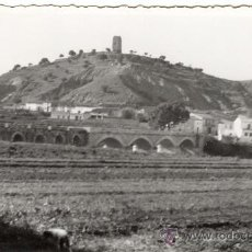 Fotografía antigua: MONTROY. VALENCIA. AÑOS 50. EN EL REVERSO ESTA ESCRITA. Lote 13241433