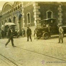 Fotografía antigua: FOTOGRAFIA DE COCHE ANTIGUO CAMION PUBLICITARIO DE COMMER CARD. Lote 13640764