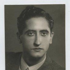 Fotografía antigua: ACTOR. PAU GARSABALL. FOTO DE JUVENTUD DEL INSIGNE ACTOR CATALÁN. F: BARÓ. CIRCA 1935. Lote 27119933