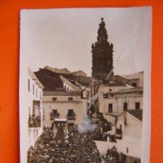 Fotografia antica: JEREZ DE LOS CABALLEROS (BADAJOZ) - FOTOGRAFICA - TROZO DE PAPEL PEGADO EN LA IMAGEN. Lote 14078453