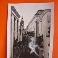 Fotografia antica: JEREZ DE LOS CABALLEROS (BADAJOZ) - FOTOGRAFICA - TROZO DE PAPEL PEGADO EN LA IMAGEN. Lote 14078457