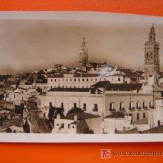 Fotografia antica: JEREZ DE LOS CABALLEROS (BADAJOZ) - FOTOGRAFICA - TROZO DE PAPEL PEGADO EN LA IMAGEN. Lote 14078495