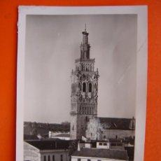 Fotografia antica: JEREZ DE LOS CABALLEROS (BADAJOZ) - FOTOGRAFICA - TROZO DE PAPEL PEGADO EN LA IMAGEN. Lote 14078534
