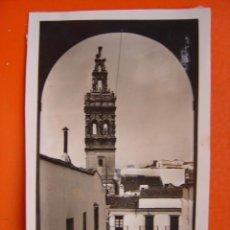 Fotografia antica: JEREZ DE LOS CABALLEROS (BADAJOZ) - FOTOGRAFICA - TROZO DE PAPEL PEGADO EN LA IMAGEN. Lote 14078633