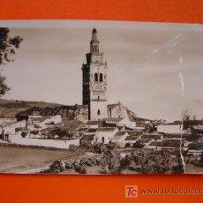 Fotografia antica: JEREZ DE LOS CABALLEROS (BADAJOZ) - FOTOGRAFICA - ROTA POR LA PARTE DERECHA DE LA IMAGEN. Lote 14078636