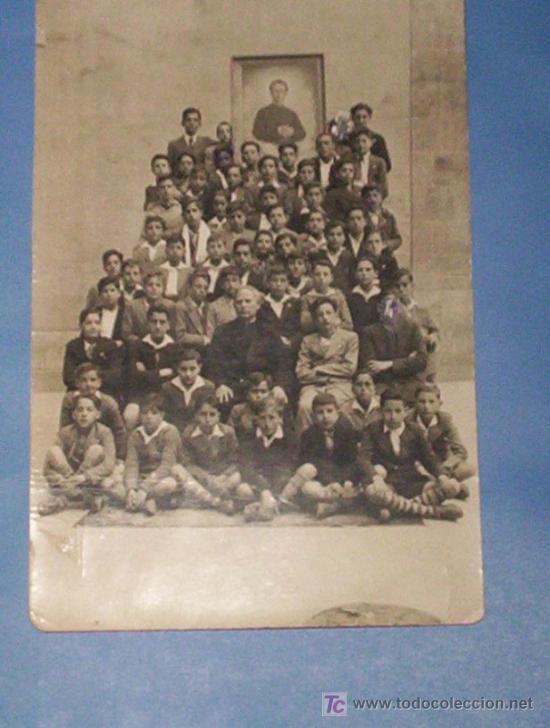 2 POSTALES FOTOG. GRUPOS ESCOLARES COLEGIO Mª AUXILIADORA Y BOSCO SALAMANCA ANSEDE Y JUANES 1929 (Fotografía Antigua - Tarjeta Postal)