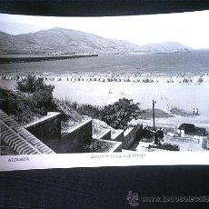 Fotografía antigua: ANTIGUA TARJETA POSTAL EN BLANCO Y NEGRO - ALGORTA. Lote 4067123