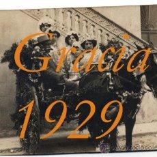 Alte Fotografie - GRACIA - BARCELONA - 1929 - Festes de Sant Medir - 27299518
