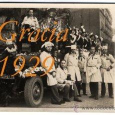 Alte Fotografie - GRACIA - BARCELONA - 1929 - Festes de Sant Medir - 27504024