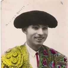 Fotografía antigua: DOMINGO ORTEGA - ANTIGUA FOTO COLOREADA -. Lote 16751436