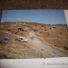 Fotografía antigua: FOTOGRAFIA: COCHES Y CAMPO PERIMETRO GERARDO CUSTANCE. Lote 16885051
