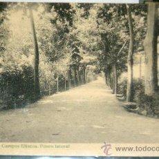 Fotografía antigua: POSTAL DE LÉRIDA - CAMPOS ELISIOS. PASEO LATERAL. Lote 17982773