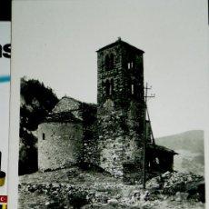 Fotografía antigua: POSTAL DE LA REPUBLICA D'ANDORRA Nº23 CANILLO ESGLESIA DE S.JOAN DE CASELLAS . Lote 17983423