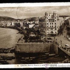 Fotografía antigua: POSTAL DE CEUTA Nº6. Lote 18061006