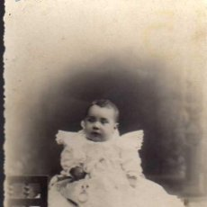 Fotografía antigua: ANTIGUA FOTOGRAFIA - TARJETA POSTAL J. ALONSO - BARCELONA - FECHADA EN 1911. Lote 19761607
