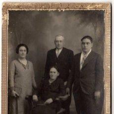 Fotografía antigua: BONITA FOTOGRAFIA ANTIGUA - TARJETA POSTAL - FOTO MOLINA - ALICANTE . Lote 22521114