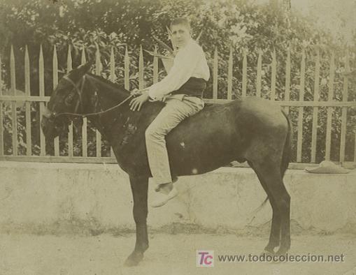 CHICO Y NULO. SIMPÁTICA FOTO. ZONA DE ALTEA. ALICANTE, CIRCA 1900 (Fotografía Antigua - Tarjeta Postal)