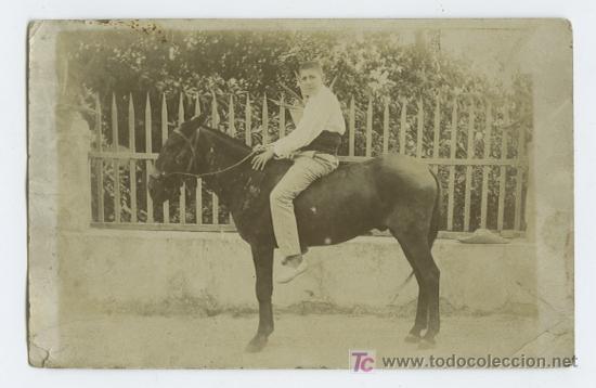 Fotografía antigua: Chico y nulo. Simpática foto. Zona de Altea. Alicante, Circa 1900 - Foto 2 - 24462146