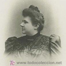 Fotografía antigua: DAMA MODERNISTA. FOTOGRAFÍA DE LORENZO SASTRE. PALMA. CIRCA 1910. Lote 20371809
