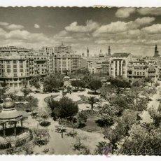 Fotografía antigua: TARJETA POSTAL EDICIONES GARCIA GARRABELLA ZARAGOZA PLAZA JOSE ANTONIO. Lote 26343004