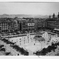 Fotografía antigua: TARJETA POSTAL EDICIONES SICILIA ZARAGOZA PAMPLONA PLAZA DEL CASTILLO SIN CIRCULAR. Lote 27612969